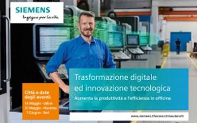 Siemens: trasformazione digitale e innovazione