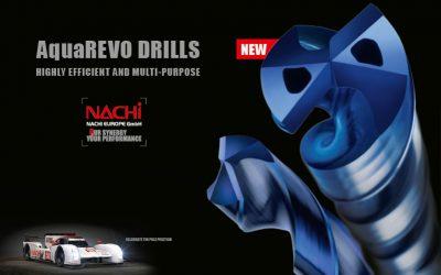 Nuove modelli per le punte AquaREVO OH di NACHI