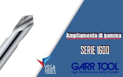 Ampliamento di gamma per le punte GARR TOOL