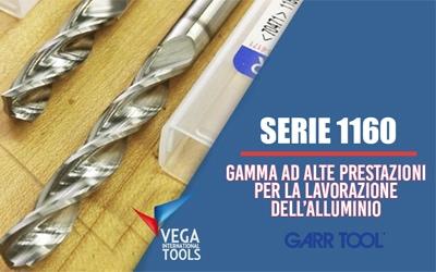 Nuova serie di punte Garr Tool. Arrivano le 3xD 1160