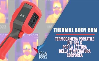 In vendita il nuovo termoscanner THERMAL BODY CAM