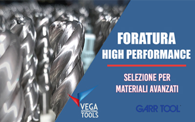 Foratura High Performance in casa GARR TOOL