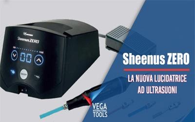 Arriva la lucidatrice a ultrasuoni Sheenus ZERO
