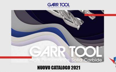 È Arrivato il Nuovo Catalogo GARR TOOL 2021